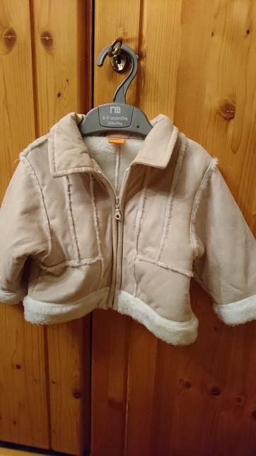 Kożuszek kurtka dla dziewczynki