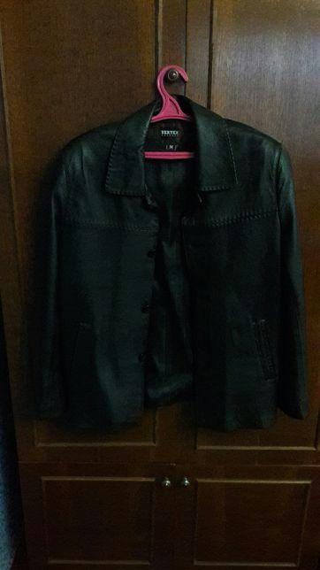 Пиджак мужской кожаный VERTEX