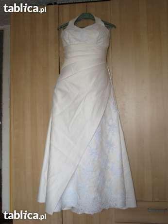 Suknia ślubna rozm 42/44 - duży biust