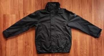Świetna kurta McKinley rozmiar 152 na 12 lat czarna wodoodporna czarna