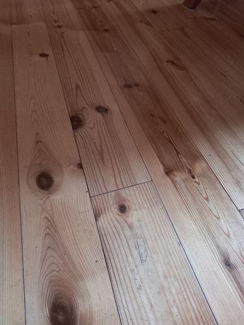 Deski podłogowe sosnowe