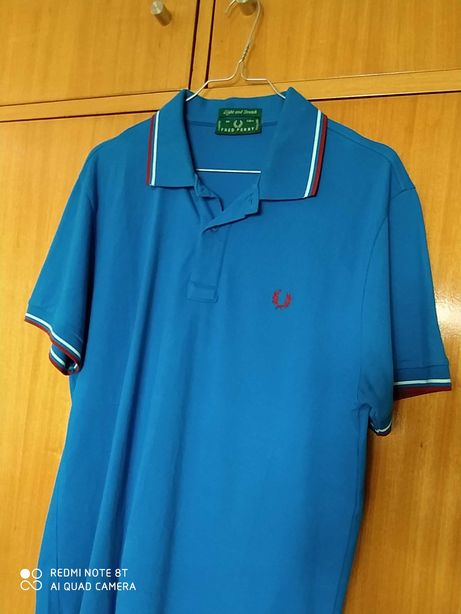 Polo Fred Perry como novo