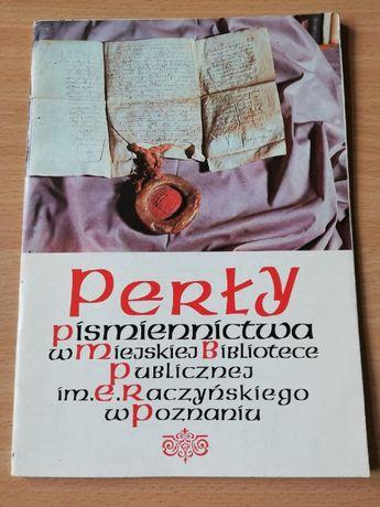 Perły piśmiennictwa w Miejskiej Bibliotece Publicznej w Poznaniu