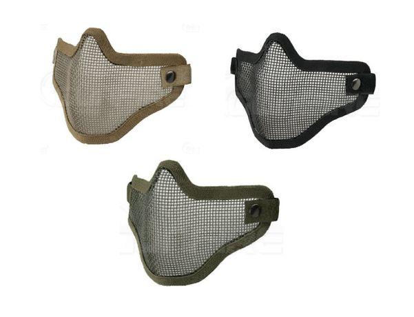 Máscaras VERDE, TAN ou PRETO de protecção, NOVAS - Airsoft, paintball