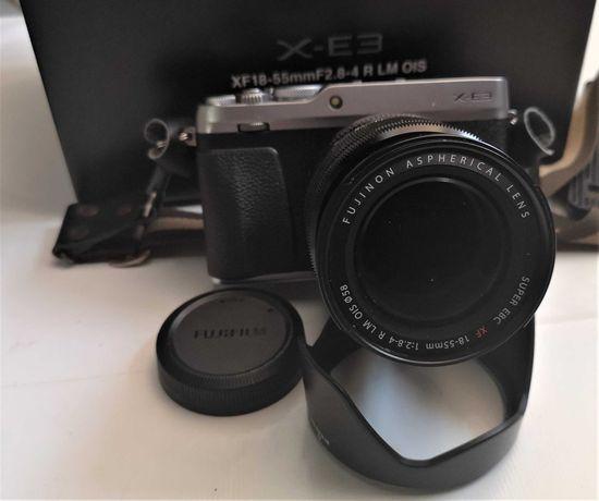 Fujifilm X-E3 body+Fujinon Super EBC XF 18-55mm 1:2.8-4 R LM OIS+Flash