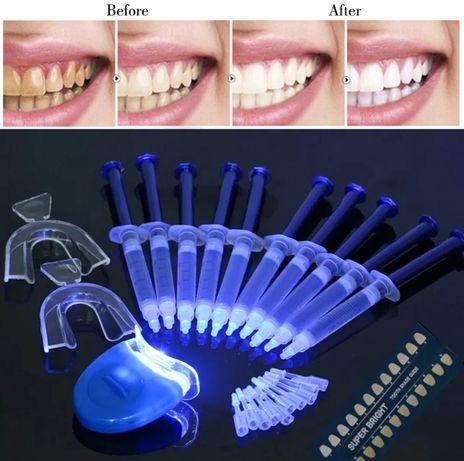 Zestaw do wybielania zębów LED 10 x 3ml SKUTECZNY PL 24h