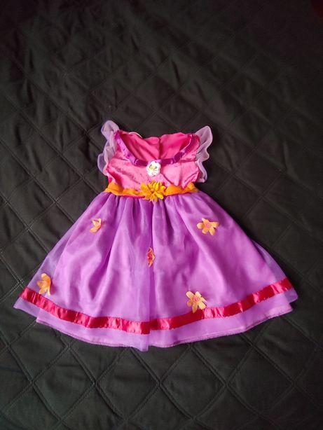 Sukienka karnawałowa księżniczka,98-104