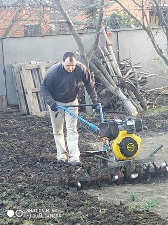 Культивация, вспашка, уборка участка, покос травы, газона