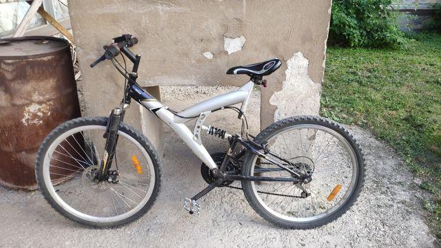 """Велосипед: горный двухподвес 26"""""""