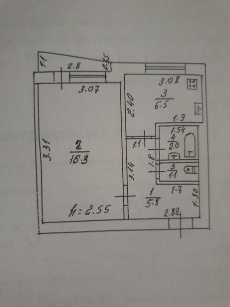 Продам 1 комнатную квартиру (г.Купянск)