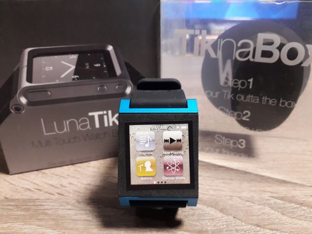 Браслет, ремешок LunaTik, чехол для плеера iPod nano 6G 8-16GB (часы)