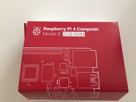 Raspelberry Pi 4 computer Model B 2GB Ram