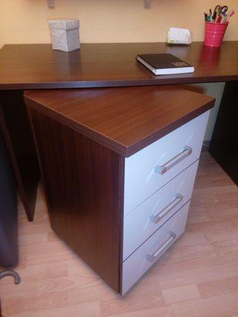 Duże biurko z szufladami - pilne