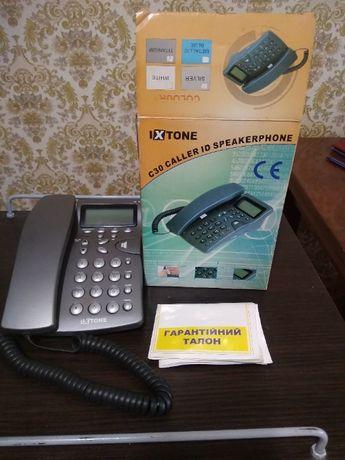 Телефон для стационарной сети с АОН.