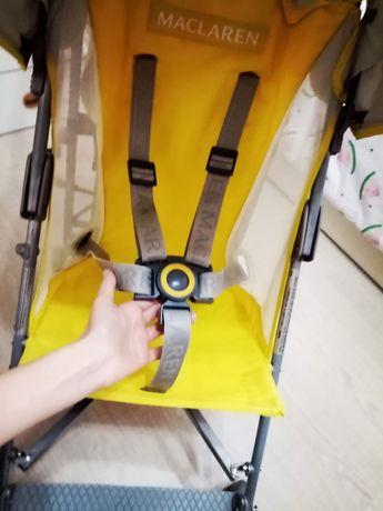 Легкая коляска -трость макларен, maclaren volo, прогулочная