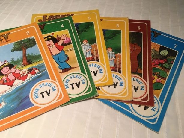 Livros Antigos - Disvenda anos 80 - Jacky o urso de Talkac