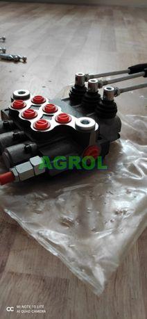 Rozdzielacz hydrauliczny 3 sekcyjny 40L Nowy Wysyłka Gwarancja