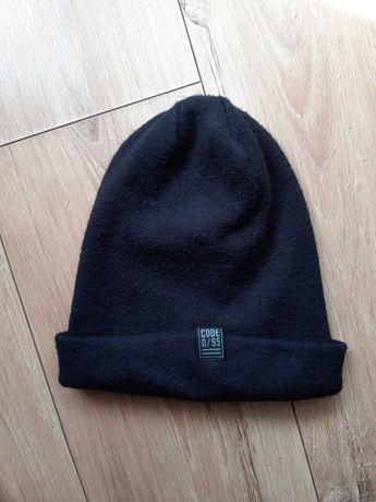 Czapka Reserved L chłopiec Czarna czapka dla chłopca Reserved L