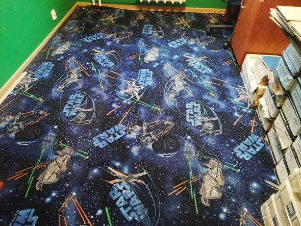 Wykładzina dywanowa, dywan do pokoju dziecięcego, Star Wars