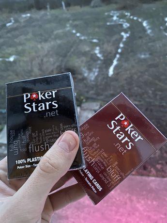 Игральные карты карты для покера пластиковые не гнутся