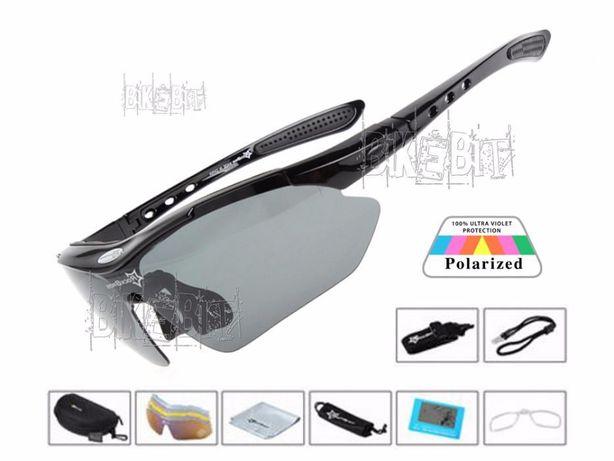 Спортивные очки RockBros Original Polarized 5 линз Вело