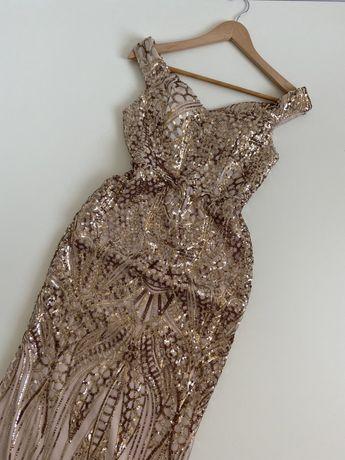 Новое нарядное ,выпускное платье в пол