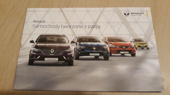 Renault prospekt nowy