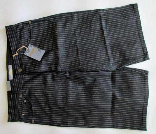 BAGGY Krótkie spodenki jeansowe 40 duże rozmiary Meskie Brooklyn Xpres