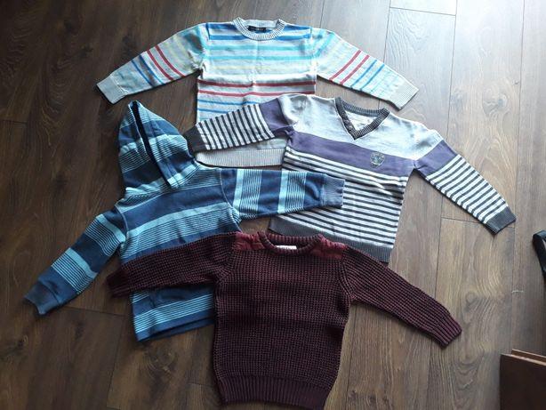 Swetry sweterki rozm. 104
