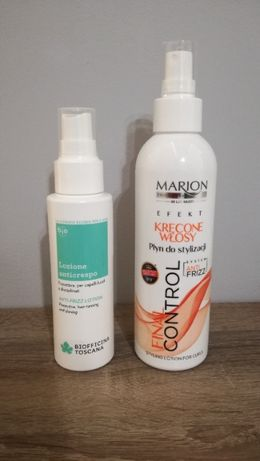spray do włosów przeciw puszeniu Biofficina Toscana Marion