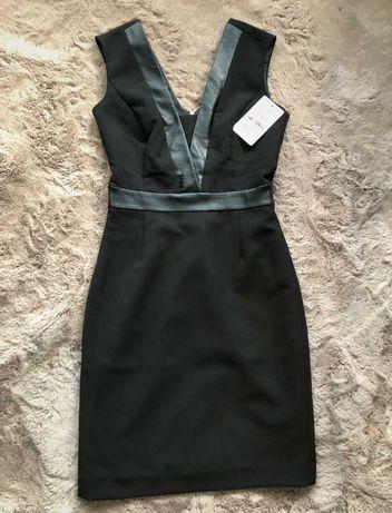 Elegancka mała czarna sukienka z metką Reserved 34