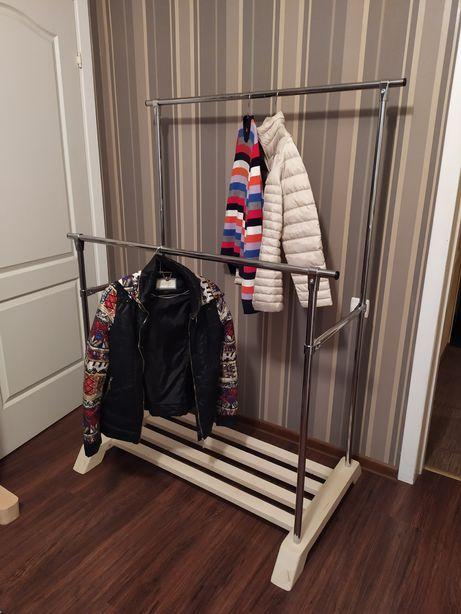 Вешалка Стойка для одежды шкаф стеллаж