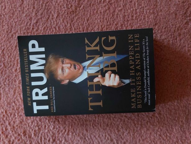 Książka  Think Big Trump