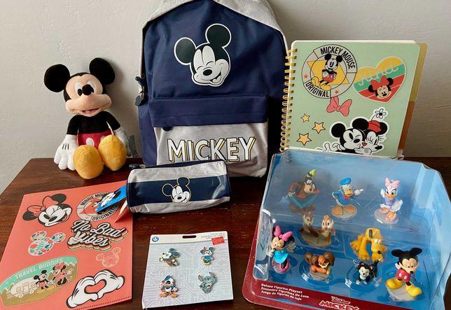 Brinquedos Mickey e Disney + Oferta Material Escolar