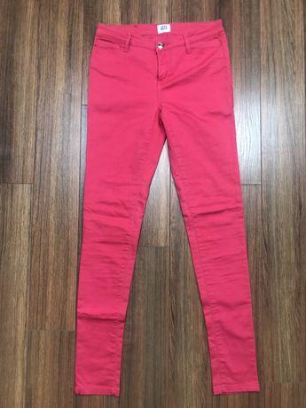 Spodnie Vero Moda malinowe 27/34 S M