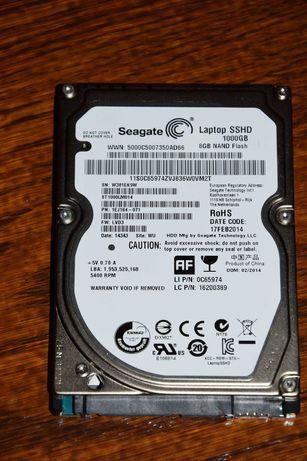 """Dysk SSHD Laptop SEAGATE 1TB, 1000GB 2.5"""" SATA"""