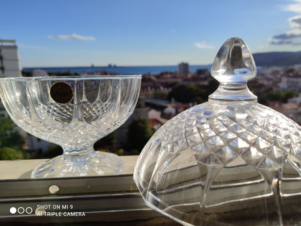 Guarda jóias Cristal D ' Arques
