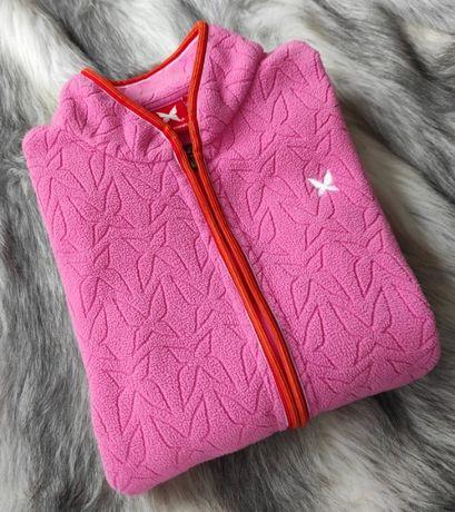 Kari Traa polar damski jak nowy różowy logo okazja S