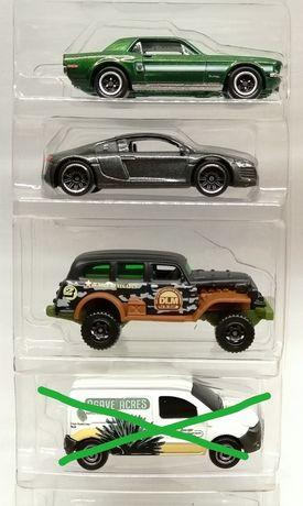 Matchbox  3 SZTUK Audi Mustang Renault