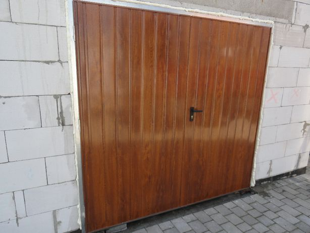 PRODUCENT bram BRAMA garażowa dwuskrzydłowa do garażu Bramy garażowe