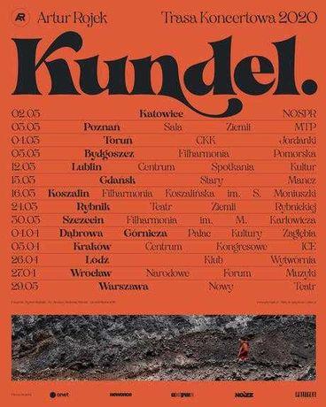 Bilety Artur Rojek Koncert Kundel Kraków ICE 22.05.2021 20.30