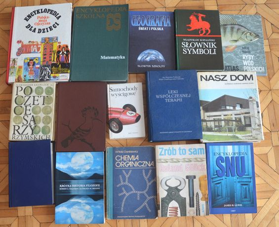 ksiązki encyklopedia słownik biografia