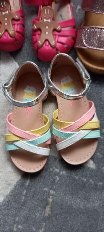 Sandalki H&M 24, jak nowe