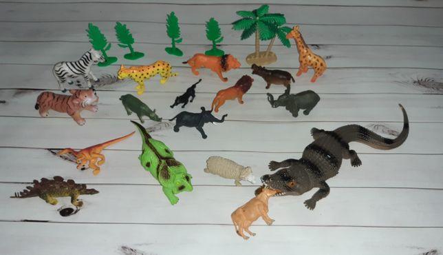 Лот набор животных ,динозавры сафари.