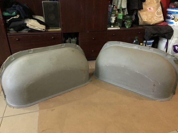 Накладки  на арки Renault Master Movano Interstar