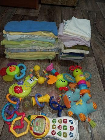 Продам детские вещи+круг