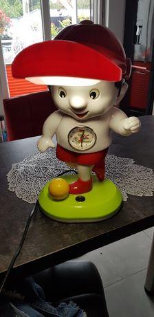 Lampka z zegarem