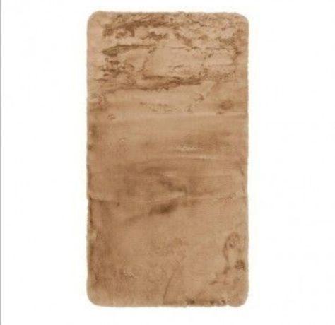 Dywan beżowo - brązowy
