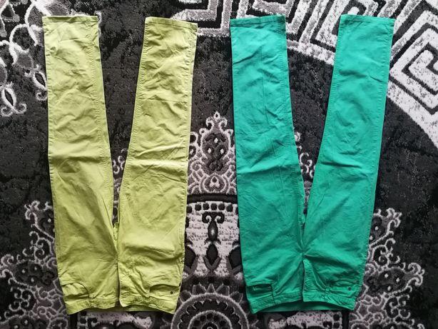 2 pary spodni materiałowych a la jeansy 38/40 C&A, InPost 5 PLN