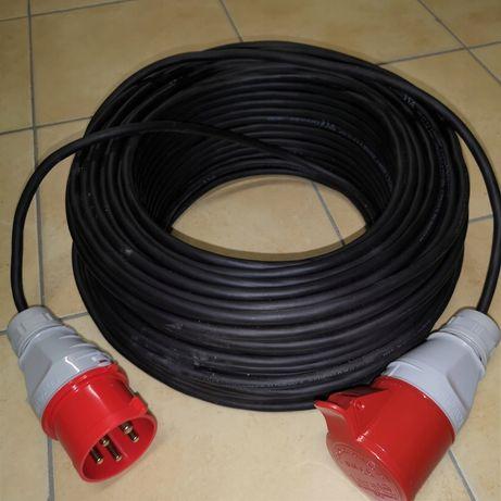 Przedłużacz siłowy gumowy budowlany siła kabel siłowy gumowy